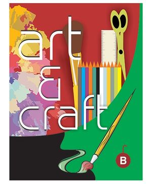 Art And Craft Book B - English