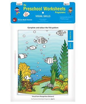 My Preschool Worksheets Visual Skills Level 2 - English