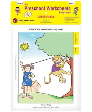 My Preschool Worksheets Programme Science Magic Level 1 - English