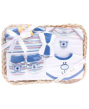 Mee Mee 8 Pieces Clothing Gift Set - Dark Blue