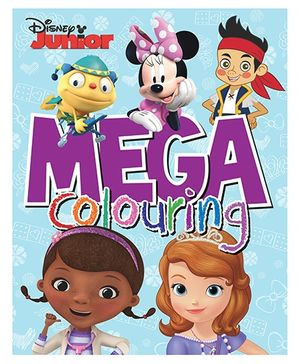Disney Junior Mega Colouring - English