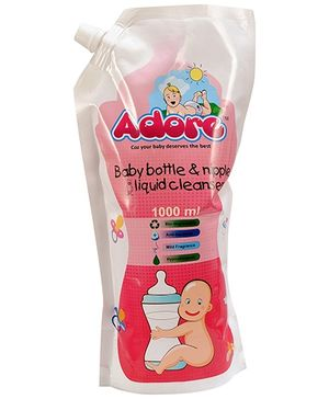 Adore Baby Bottle & Nipple Liquid Cleanser - 1000 ml