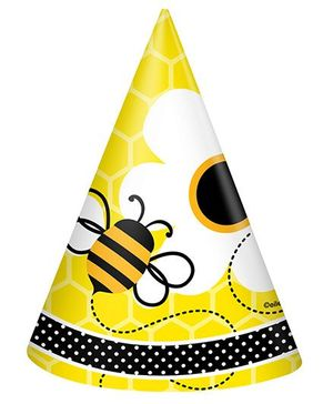 Busy Bees Party Hats