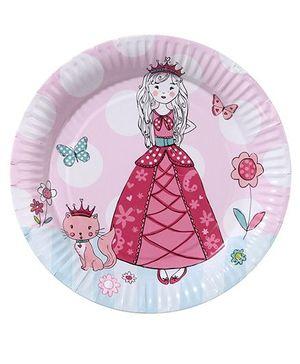 I Am A Princess Plates