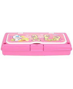 Pratap Hy Class Plastic Pencil Box Set - Pink