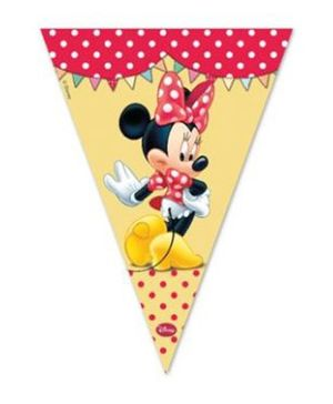 Disney Minnie Mouse Triangle Flag Banner - 9 Pieces