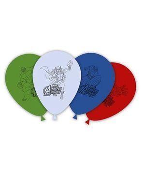 Marvel Avengers Multi Heroes Printed Balloons - Pack of 8