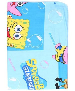 Diaper Changing Baby Mat Cartoon Print - Blue