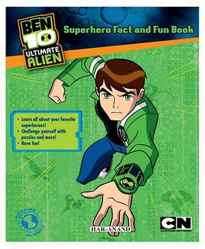 Ben 10 Superhero Fact And Fun Book - English