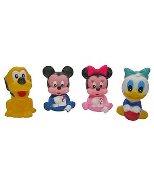 Baby Steps Squeeze Mouse Junior Set Of 4 - Multicolour