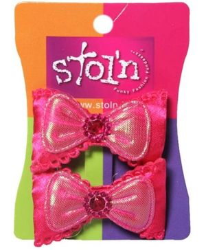 Stoln Hair Clip - Pink
