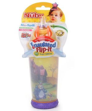 Nuby Insulated No Spill Sipper Cup - Purple
