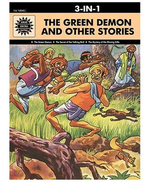 The Green Demon And Other Stories 10045 - English