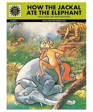 How The Jackal Ate The Elephant - Malayalam
