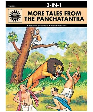 3 in 1 More Tales From The Panchatantra - English