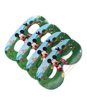 Disney Mickey Mouse & Friends Club House Eye Mask Pack of 10 - Multi Color