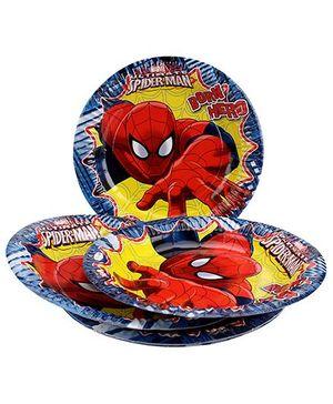 Marvel Spider Man Paper Plate Large - Multi Color