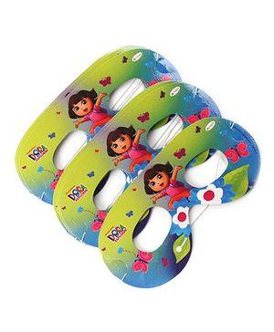 Dora 1 Eye Masks Pack Of 10 - Multi Color