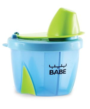 Babe Portion Pourer Milk Powder Container - Blue And Green