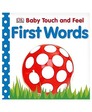 Baby Touch and Feel First Words - English