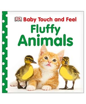 Baby Touch and Feel Fluffy Animals - English