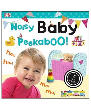 Noisy Baby Peekaboo Flap Book - English