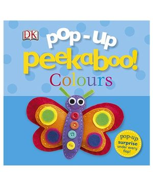 Pop-Up Peekaboo! Colours - English
