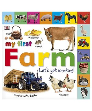 My First Farm Let's Get Working - English
