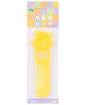 Mee Mee Baby Comb - Yellow
