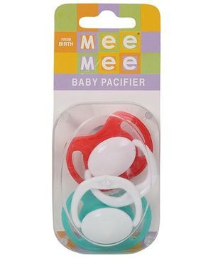 Mee Mee Baby Pacifier MM-3755B - Green Red