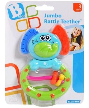 B-Kids Jumbo Rattle Teether