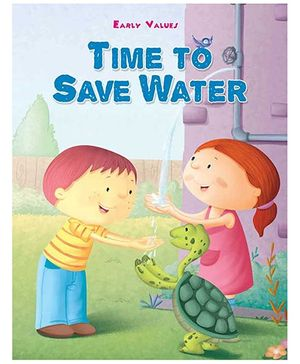 Early Values Time To Save Water - English