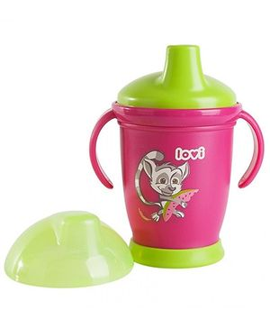 Lovi Non Spill Cup Pink - 250 ml