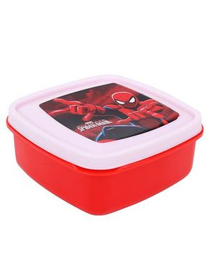 Cello Homeware Lunch Box Spiderman Print - Red