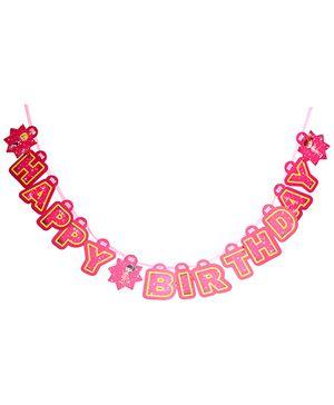 B Vishal Happy Birthday Banner - Multi Color