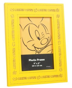 Mickey Mouse and Friends Yellow Photo Frame