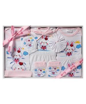 Baby Gift Set - Rabbit Print