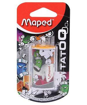 Maped Mini Can Tatoo 1 Hole Sharpener - Orange