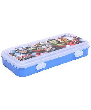 Disney Avengers Pencil Box - Blue