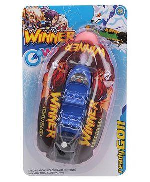 Winner Wind Up Boat - Red Blue