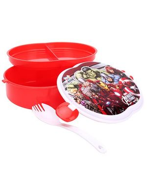 Marvel Avengers Pickwick Lunch Box - Red