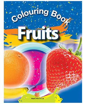 Colouring Book Fruits - English