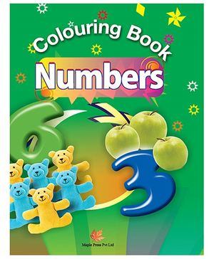 Colouring Book of Numbers - English