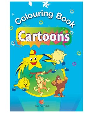 Colouring Book Cartoons - English