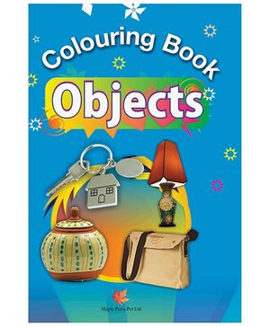 Colouring Book Objects - English