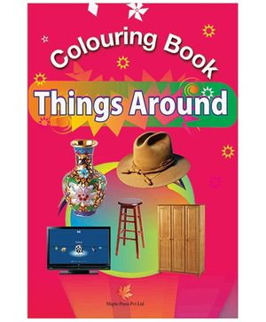 Colouring Book Of Things Around - English