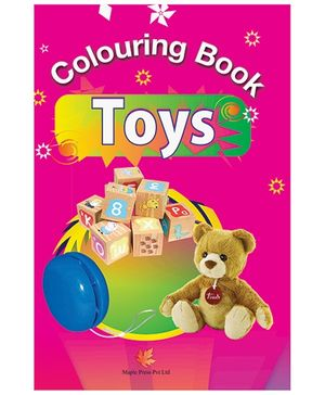 Colouring Book Toys - English