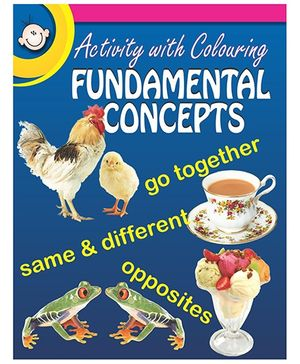 Activity With Colouring Fundamental Concepts - English