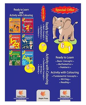 Ready To Learn Activity Books Set Of 6 - English