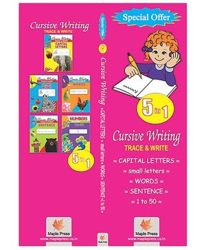 Writing Book Set Of 5 Books - English